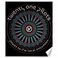 Twenty One Pilots Canvas 8  x 10  by Onesevenart