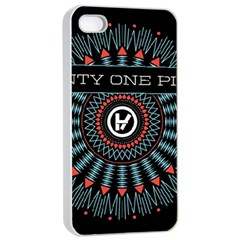 Twenty One Pilots Apple Iphone 4/4s Seamless Case (white) by Onesevenart