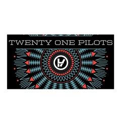 Twenty One Pilots Satin Wrap by Onesevenart