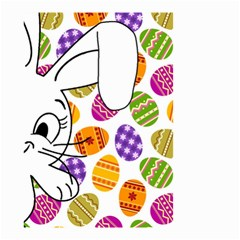 Easter Bunny  Small Garden Flag (two Sides) by Valentinaart
