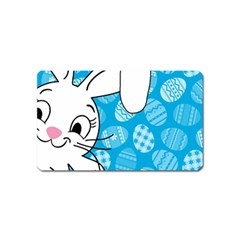 Easter Bunny  Magnet (name Card) by Valentinaart