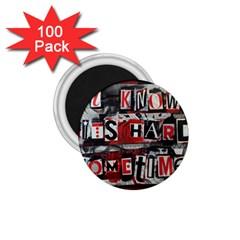 Top Lyrics Twenty One Pilots The Run And Boys 1 75  Magnets (100 Pack)  by Onesevenart
