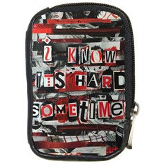 Top Lyrics Twenty One Pilots The Run And Boys Compact Camera Cases by Onesevenart