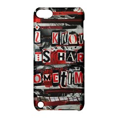 Top Lyrics Twenty One Pilots The Run And Boys Apple Ipod Touch 5 Hardshell Case With Stand by Onesevenart