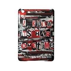 Top Lyrics Twenty One Pilots The Run And Boys Ipad Mini 2 Hardshell Cases by Onesevenart