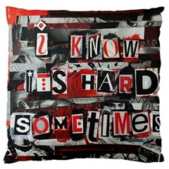 Top Lyrics Twenty One Pilots The Run And Boys Standard Flano Cushion Case (one Side) by Onesevenart