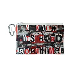 Top Lyrics Twenty One Pilots The Run And Boys Canvas Cosmetic Bag (s) by Onesevenart