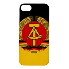 Flag Of East Germany Apple Iphone 5s/ Se Hardshell Case by abbeyz71