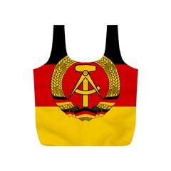 Flag Of East Germany Full Print Recycle Bags (s)  by abbeyz71