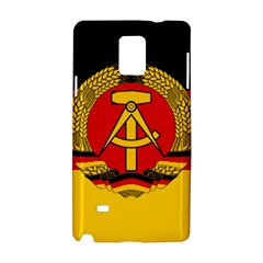 Flag Of East Germany Samsung Galaxy Note 4 Hardshell Case by abbeyz71