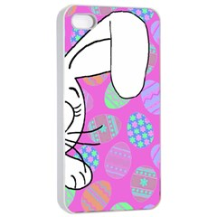 Easter bunny  Apple iPhone 4/4s Seamless Case (White)