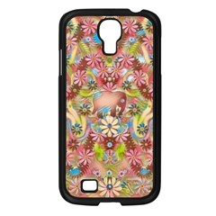 Jungle Life And Paradise Apples Samsung Galaxy S4 I9500/ I9505 Case (black) by pepitasart