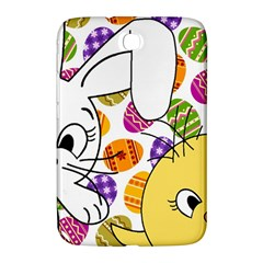 Easter Bunny And Chick  Samsung Galaxy Note 8 0 N5100 Hardshell Case  by Valentinaart