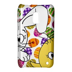 Easter Bunny And Chick  Nokia Lumia 620 by Valentinaart