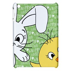 Easter Bunny And Chick  Apple Ipad Mini Hardshell Case by Valentinaart