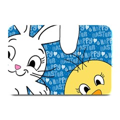Easter bunny and chick  Plate Mats by Valentinaart
