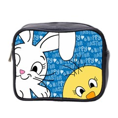 Easter bunny and chick  Mini Toiletries Bag 2-Side by Valentinaart