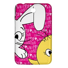 Easter Bunny And Chick  Samsung Galaxy Tab 3 (7 ) P3200 Hardshell Case  by Valentinaart