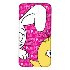 Easter Bunny And Chick  Samsung Galaxy S5 Back Case (white) by Valentinaart