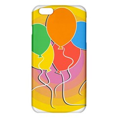 Birthday Party Balloons Colourful Cartoon Illustration Of A Bunch Of Party Balloon Iphone 6 Plus/6s Plus Tpu Case by Nexatart