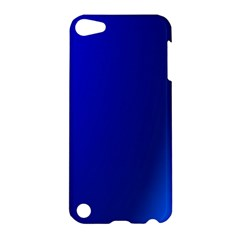Blue Wallpaper With Rainbow Apple Ipod Touch 5 Hardshell Case by Nexatart