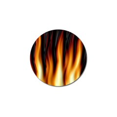 Dark Flame Pattern Golf Ball Marker (10 Pack) by Nexatart
