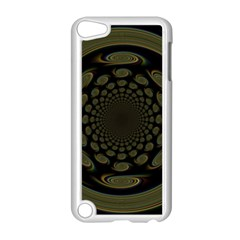 Dark Portal Fractal Esque Background Apple Ipod Touch 5 Case (white) by Nexatart