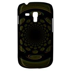 Dark Portal Fractal Esque Background Galaxy S3 Mini by Nexatart