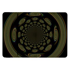 Dark Portal Fractal Esque Background Samsung Galaxy Tab 8 9  P7300 Flip Case by Nexatart