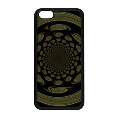 Dark Portal Fractal Esque Background Apple Iphone 5c Seamless Case (black) by Nexatart