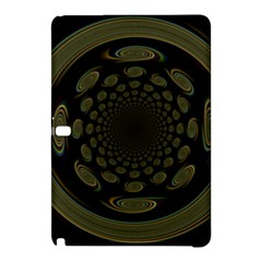 Dark Portal Fractal Esque Background Samsung Galaxy Tab Pro 12.2 Hardshell Case by Nexatart