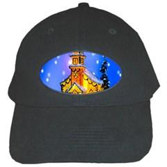 Winter Church Black Cap by Nexatart