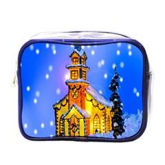 Winter Church Mini Toiletries Bags by Nexatart