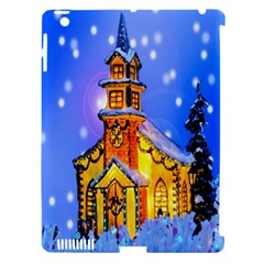 Winter Church Apple Ipad 3/4 Hardshell Case (compatible With Smart Cover) by Nexatart