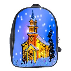 Winter Church School Bags (xl)  by Nexatart
