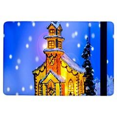 Winter Church Ipad Air Flip by Nexatart