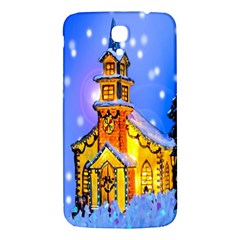 Winter Church Samsung Galaxy Mega I9200 Hardshell Back Case by Nexatart