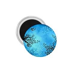 Blue Night Portrait Background 1 75  Magnets by Nexatart