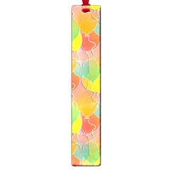 Birthday Balloons Large Book Marks by Nexatart