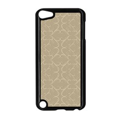 Abstract Background With Floral Orn Illustration Background With Swirls Apple iPod Touch 5 Case (Black)