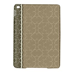 Abstract Background With Floral Orn Illustration Background With Swirls Ipad Air 2 Hardshell Cases by Nexatart