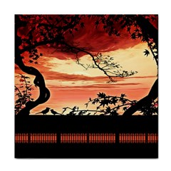 Autumn Song Autumn Spreading Its Wings All Around Tile Coasters by Nexatart
