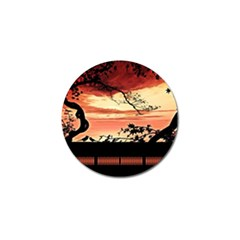 Autumn Song Autumn Spreading Its Wings All Around Golf Ball Marker (10 Pack) by Nexatart