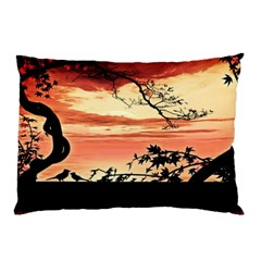 Autumn Song Autumn Spreading Its Wings All Around Pillow Case by Nexatart