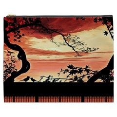 Autumn Song Autumn Spreading Its Wings All Around Cosmetic Bag (xxxl)  by Nexatart