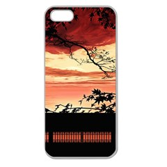 Autumn Song Autumn Spreading Its Wings All Around Apple Seamless Iphone 5 Case (clear) by Nexatart
