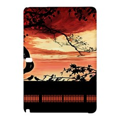Autumn Song Autumn Spreading Its Wings All Around Samsung Galaxy Tab Pro 12 2 Hardshell Case by Nexatart