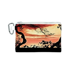 Autumn Song Autumn Spreading Its Wings All Around Canvas Cosmetic Bag (s) by Nexatart