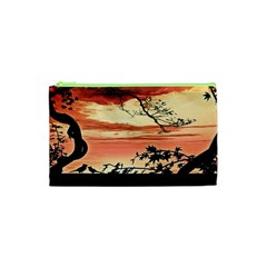 Autumn Song Autumn Spreading Its Wings All Around Cosmetic Bag (xs) by Nexatart
