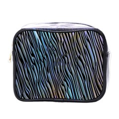 Abstract Background Wallpaper Mini Toiletries Bags by Nexatart